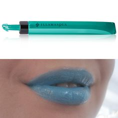 Intense Lipgloss in GENDER    www.illamasqua.com  www.illamasqua.com/socialise - join in the debate!