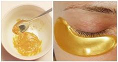 They Call It The Gold Mask Because It Helps To Eliminate Wrinkles, Blemishes and Acne. Here Is The Prescription. Homemade Facial Mask, Homemade Facials, Face Care, Body Care, Skin Care, Masque Anti Ride, Beauty Care, Beauty Hacks, Contouring