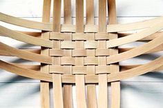 How to weave a basket of veneer — DIY is FUN                                                                                                                                                                                 More