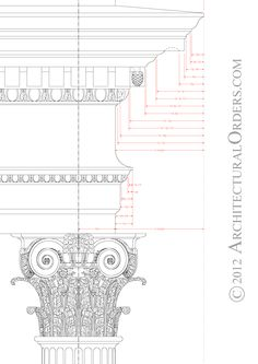 Composite Entablature and Capital | architecturalorders
