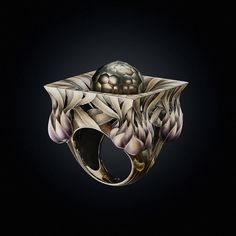 An astonishing piece of work. This ring by the superbly talented Russian…