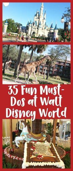 35 Fun Must-Dos at Walt Disney World - Family Travel Magazine Disney World Resorts, Disney World Tipps, Disney World Parks, Disney World Tips And Tricks, Disney Tips, Disney Fun, Disney Vacations, Disney Travel, Disney 2017
