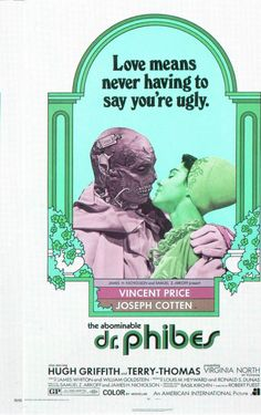 Extra Large Movie Poster Image for The Abominable Dr. Phibes 1971.