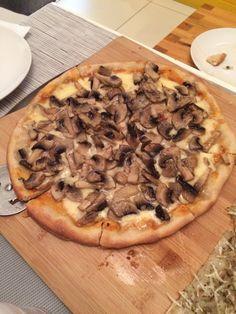 Homemade pizza munter