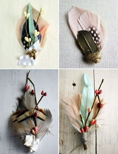the perfect boutonnieres