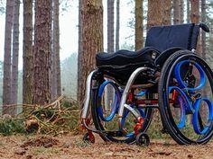 Nieuw rolstoel wiel
