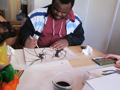 Click here to learn more about Patrick from Virginia, our Studio 35 Featured Artist! #FHR #Studio35 #ArtTherapy www.fellowshiphr.org