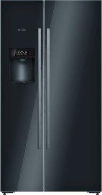 Bosch 638 L Frost Free Side By Side Refrigerator Glass Black Kad92sb30 Refrigerator Buy Refrigerator Cheap Refrigerators