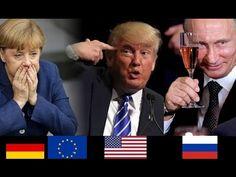 Die Geopolitik der Endzeit ➤ Trump und Putin   Ein Denkzettel für Merkel...