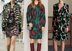 ABSTRACT CAMO New colour combinations_camouflage clash_over-scaled animal prints_abstract leaves_silhouettes and shadows Pre_fall_2015_print_trends_Abstract_Camo