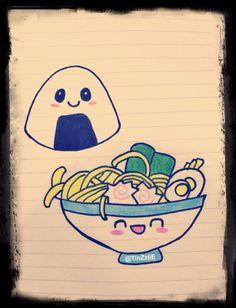 Onigiri and ramen
