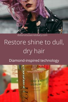 Restore Shine To Dull Dry Hair, If you have dry ends like me, you are probably looking for a solution to this problem...find out more... #hair#serum#shine