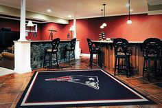 #NewEnglandPatriots Logo Rug