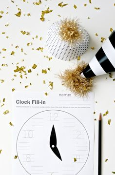 The TomKat Studio: Last Minute New Year's Eve Printables!