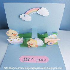 Judy's Handmade Creations: Easter pop up Card!!