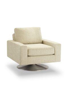 Palos Verdes Swivel Chair - Gilt Home