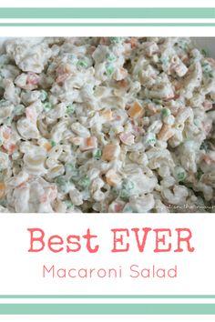 Best EVER Macaroni S