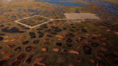 Fox Petroleum, Alaska Tundra  Photo by Kent Kallberg, Kent Kallberg Studios http://www.kallbergstudios.com/  Vancouver, BC, Canada #photography #photographer #Vancouverphotographer #Vancouver  #Aerial #Beautiful