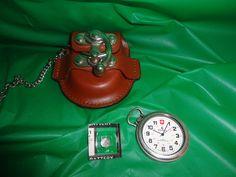 Vintage Morita Pocket Watch With Case find me at www.dandeepop.com