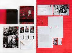 FENIKS - corporate identity by Karol Romanowski, via Behance