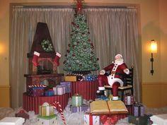 Chocolate Santa scene, Walt Disney World Swan and Dolphin hotel