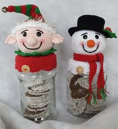 Kerst/winter potjes - Simply made by Alma