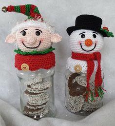 Kerst/winter potjes
