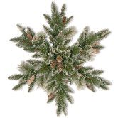 Buy the Glittery Bristle® Pine Snowflake with White Tipped Pine Cones & Warm White LED Lights at Michaels. The Glittery Bristle Pine is a mixed branch decoration with glittered tips for added sparkle. Diy Christmas Fireplace, Diy Christmas Snowflakes, Snowflake Wreath, Christmas Diy, Christmas Wreaths, Merry Christmas, Snowflake Shape, Christmas Garden, Christmas Poinsettia