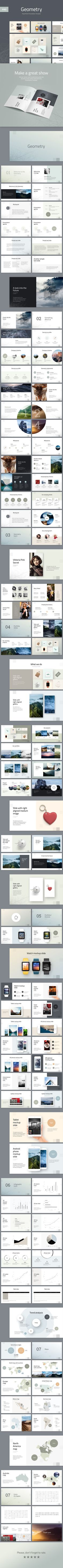 Geometry Modern PowerPoint Presentation Template - Creative PowerPoint Templates
