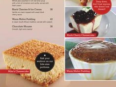 Mike's Kitchen - Desserts - Always have room for pud!