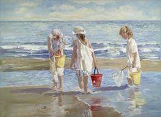 'Minnow Collectors' by Sally Swatland
