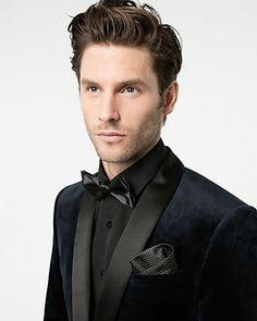 Veston de coupe contemporaine en velours Mode Glamour, Abraham Lincoln, Blazer, Style, Velvet, Cutaway, Swag, Stylus, Blazers