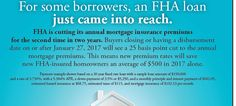 Kentucky FHA loan mortgage insurance changes for 2017. Lower mortgage monthly insurance premium-savings of 25% for Louisville, Kentucky FHA homebuyers and homeowners fha reduced mip program
