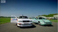 Police Car challenge part 1 - Top Gear - BBC