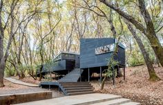 A Constellation of One-Room Cabins, Embedded in the Forest - NYTimes.com