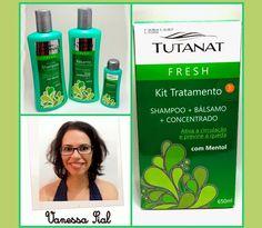 """A blogueira Vanessa Sial do Blog Bela Domus  , usou e super recomenda o Kit Fresh da Tutanat. """"Na minha rotina o uso do kit Tutanat Fresh foi incluído 2 vezes na semana. Para quem não tem prescrição de outros tratamentos seu uso pode ser diário.Super aprovado!""""  Adquira os produtos da Tutanat na nossa loja virtual é só acessar: www.rishonloja.com.br"""