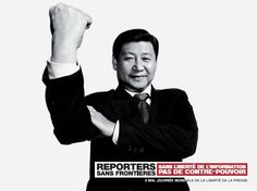 Reporters Sans Frontières / Reporters Without Borders - Xi Jinping #2013