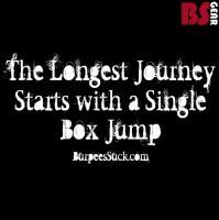 The torture of box jumps is awesome:)