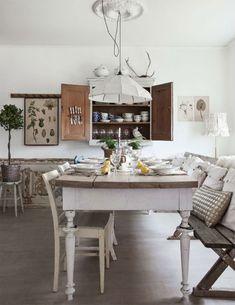Landelijke Shabby Chic keuken | Interieur inrichting