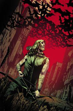 Green Arrow by Andrea Sorrentino