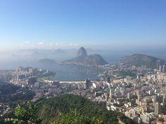 View from Mirante Dona Marta, Rio de Janeiro, Brazil
