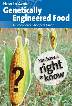 Guide to help avoid GMOs. Quite extensive. You have a right to know.
