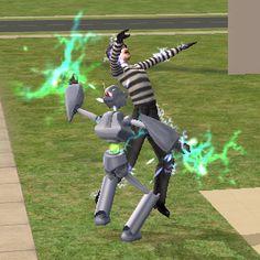 Servo Security System Robot Factory, Free Sims, Paladin, Sims 2, Robots, Supernatural, Garden Sculpture, Outdoor Decor, Robot