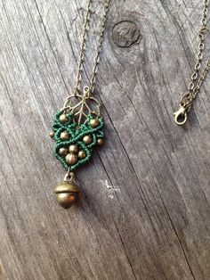 Macrame boho elven necklace jewelry micro by creationsmariposa