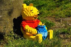Lego Winnie the Pooh...wonder if I can get the twins to build this for me?