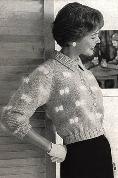 Vintage knitting book chock full of great retro designs to make. Includes style for both men and women, including something the book calls leotards but what looks like ribbed leggings to me. Mode Vintage, Vintage Girls, Vintage Outfits, Vintage Knitting, Vintage Crochet, 1950s Fashion, Vintage Fashion, Sock Leggings, Gloves Fashion