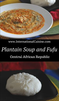 This Plantain soup recipe is thick and hearty. It would typically be served with fufu (a cornmeal porridge) to scoop up the soup and eaten with the right hand. It has a great combination of flavors, you should try it! African Recipes, Indian Food Recipes, Plantain Soup, Nigerian Food, Food Tags, International Recipes, Vegetable Dishes, Food Inspiration, Dessert Recipes