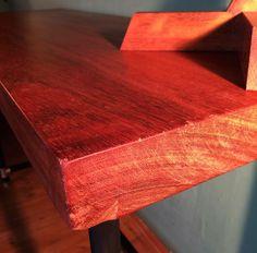 Industrial Desk, Butcher Block Cutting Board, Industrial Office