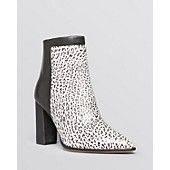 I NEED THESE Loeffler Randall Pointed Toe High Heel Booties - Mercer