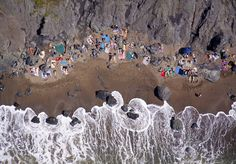 Nude beach by Gray Malin